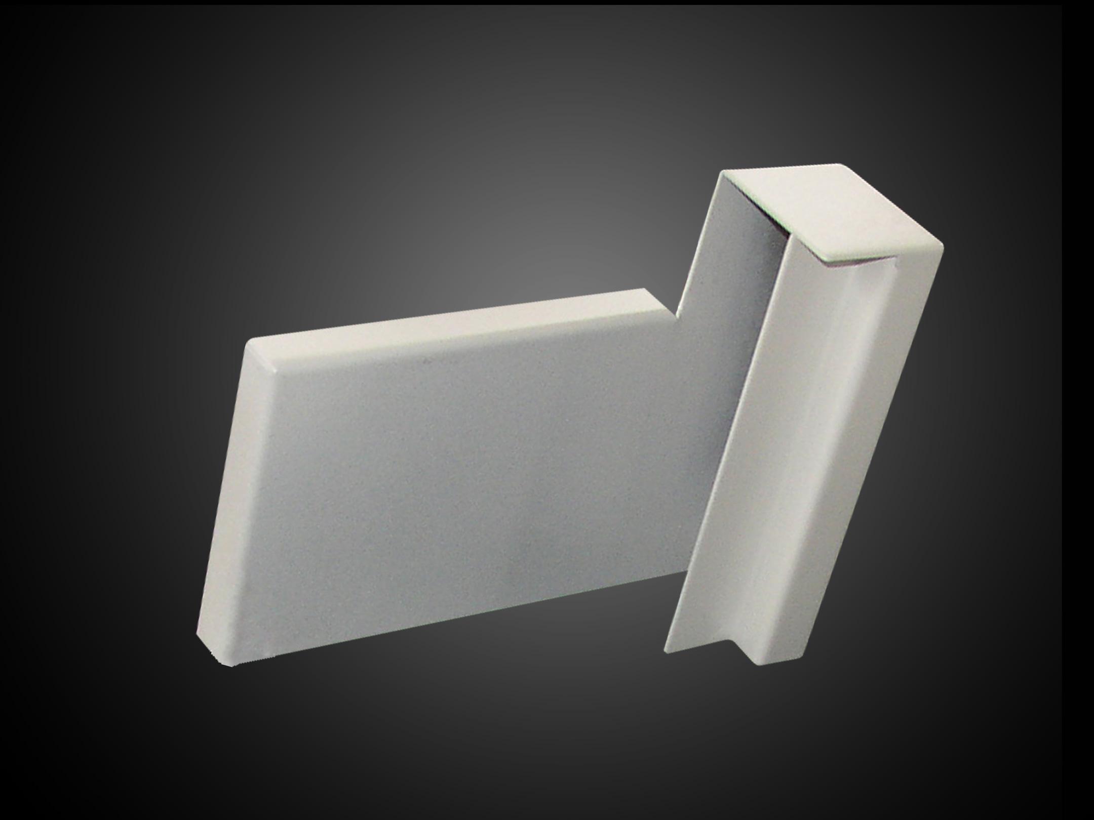 davanzale in alluminio alusill rompigoccia